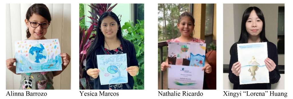 Drop Savers 2020 Water Conservation Poster Contest winners